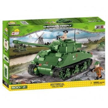 Конструктор Cobi Британский средний танк Sherman Firefly