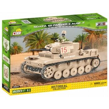 Конструктор Cobi Немецкий легкий танк Panzer II