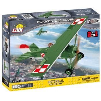Конструктор Cobi Немецкий истребитель Fokker E.V (D.VIII)