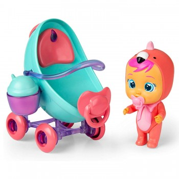 Кукла Cry Babies Плачущий младенец Фэнси с коляской и аксессуарами