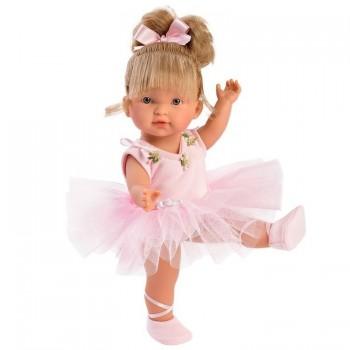 Кукла Llorens Балерина Валерия в розовом