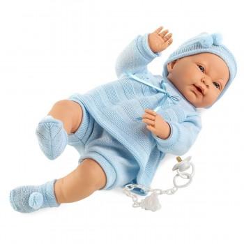 Кукла Лоренс Младенец в голубом, 45 см