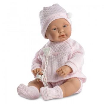 Кукла Llorens Младенец в розовом, 45 см