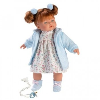 Кукла Llorens Лея, 33 см (озвучена)