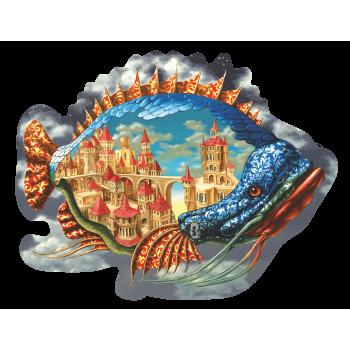 Деревянный пазл Davici Обитаемая рыба