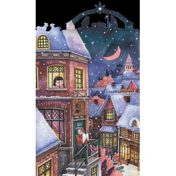 Деревянный пазл Davici Рождественский ангел