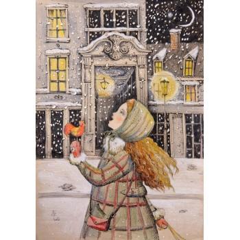 Деревянный пазл Davici Вкусный снег