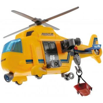 Спасательный вертолет со светом и звуком Dickie, 18см