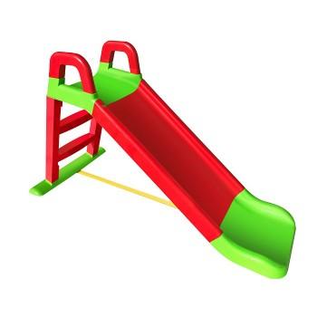 Детская пластиковая горка Doloni 140 см красно-зеленая