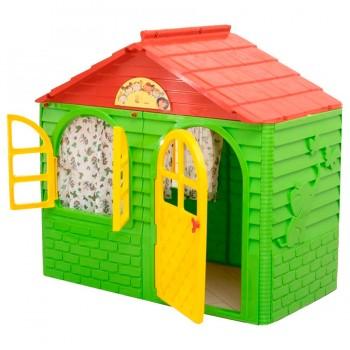 Детский пластиковый домик Doloni № 1 салатовый