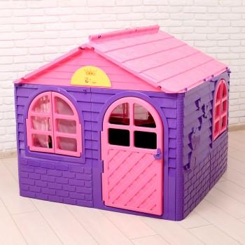 Детский пластиковый домик Doloni № 2 сиреневый