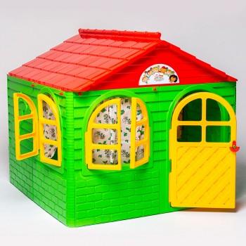 Детский пластиковый домик Doloni № 2 салатовый