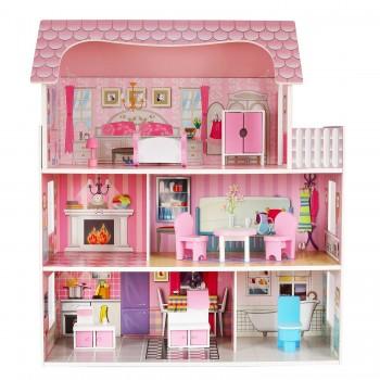 Деревянный кукольный домик Demi