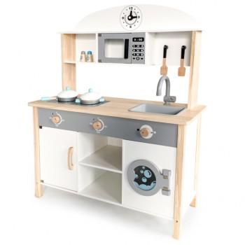 Деревянная детская кухня Eco Toys TL89041