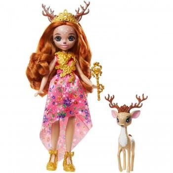 Кукла Enchantimals Королева Давиана и Грасси GYJ12