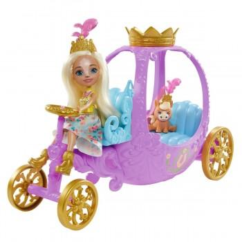 Набор Энчантималс королевская карета с куклой Пеола Пони GYJ16
