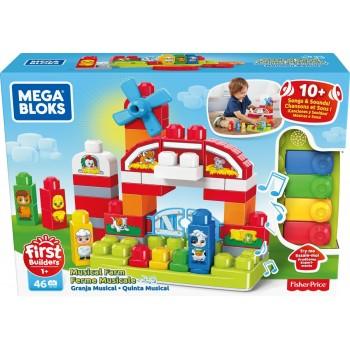 Конструктор Mega Bloks Музыкальная ферма GCT50