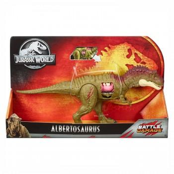Фигурка динозавра Альбертозавр Jurassic World Mattel