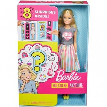 Кукла Barbie Сюрприз GFX84