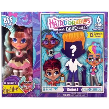 Кукла мальчик Hairdorables с куклой Диди