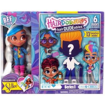 Кукла мальчик Hairdorables с куклой Салли