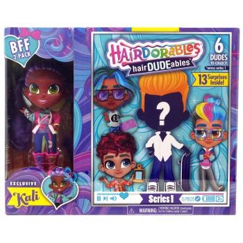 Кукла мальчик Hairdorables с куклой Кали