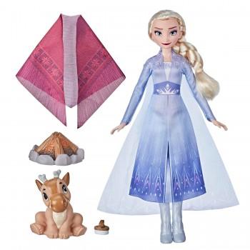 Кукла Холодное сердце 2 Эльза у костра F1582