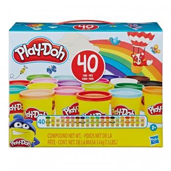 Пластилин Play Doh 40 банок E9413