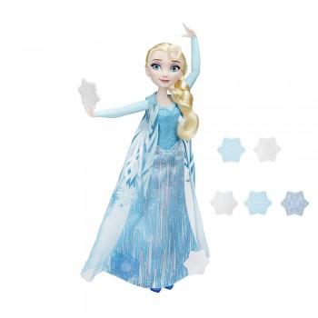 Кукла Эльза запускающая снежинки рукой Холодное сердце