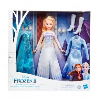 Кукла Холодное сердце 2 Эльза с нарядами E9669