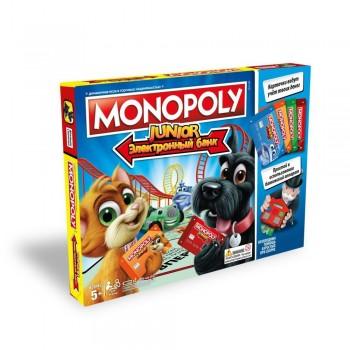Настольная игра Hasbro Монополия Джуниор с банковскими карточками E1842