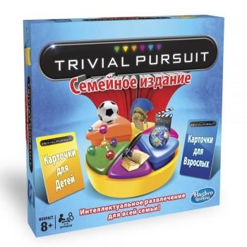 Настольная игра Hasbro Тривиал Персьюит Семейная 73013