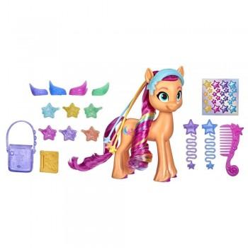 Игрушка My Little Pony Радужные волосы Санни F1794