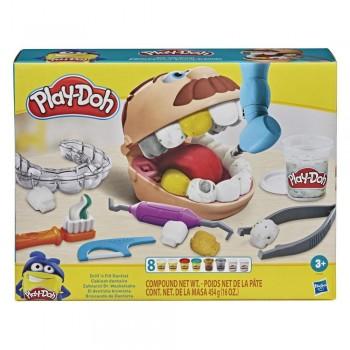 Пластилин Play Doh Мистер Зубастик с золотыми зубами F1259