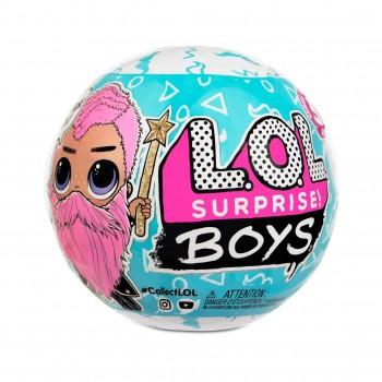 Кукла Лол мальчик с бородой Lol Surprise Boys 5 серия