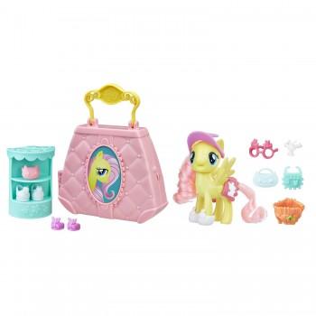 Набор с пони Флаттершай Возьми с собой My Little Pony E0187