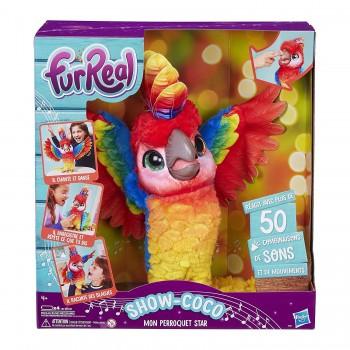 Интерактивная игрушка Furreal Friends Попугай поющий Кеша E0388