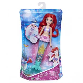 Кукла Принцесса Дисней Интерактивная Ариэль E6387