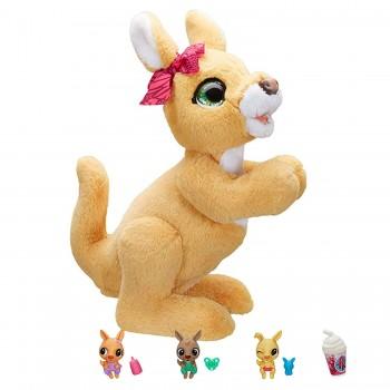 Интерактивная игрушка Furreal Friends Кенгуру Джози и ее малыши E6724