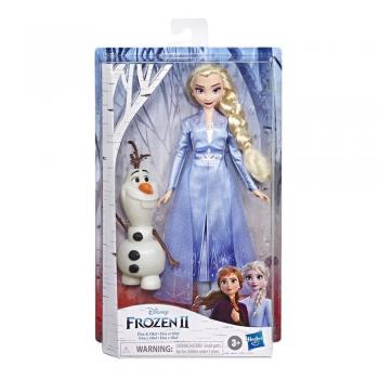 Кукла Эльза с Олафом Холодное сердце 2