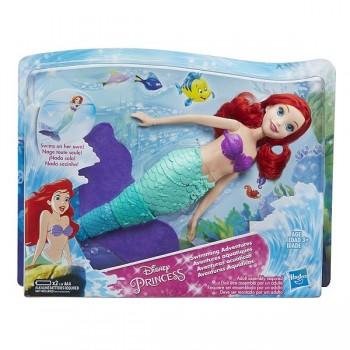 Кукла Принцесса Дисней Ариэль плавающая русалка E0051