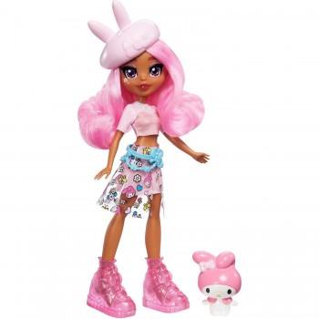 Кукла Hello Kitty Стайли с фигуркой GWW97