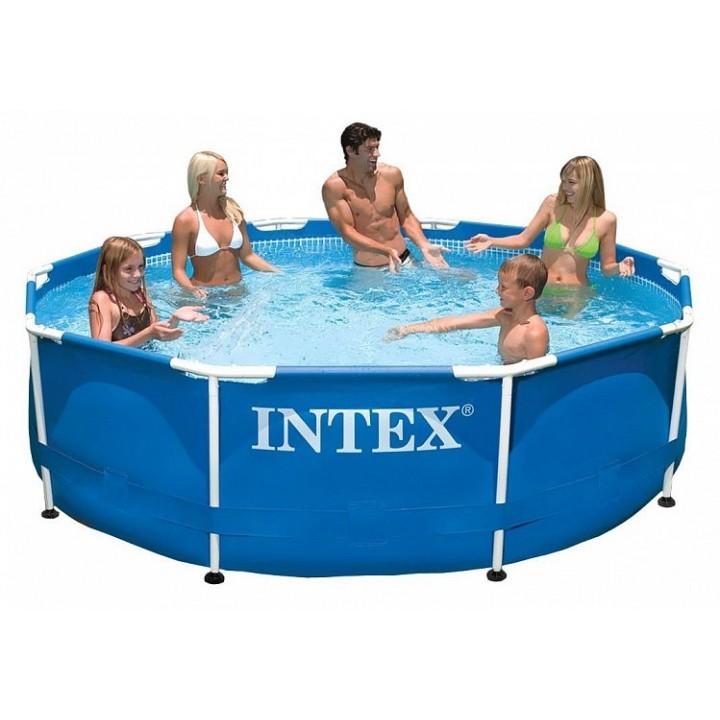 Бассейн каркасный Intex 28200 Metal Frame 305x76 см