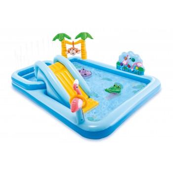Детский надувной игровой центр Intex 57161 Джугли 257х216х84 см
