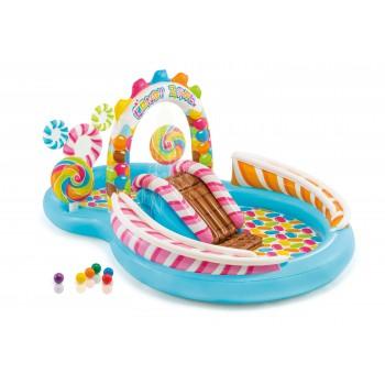 Детский надувной игровой центр Intex 57149 Территория сладостей