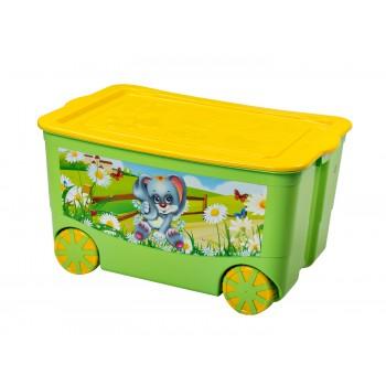 Контейнер для игрушек KidsBox на колесах