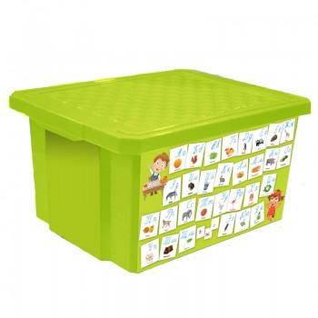 Ящик для игрушек Little Angel 17л