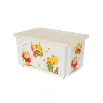 Ящик для игрушек Little Angel Bears 17л