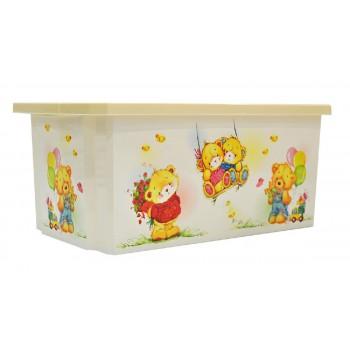 Ящик для игрушек Little Angel Bears 57л
