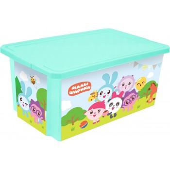 Ящик для игрушек Little Angel Малышарики 57л